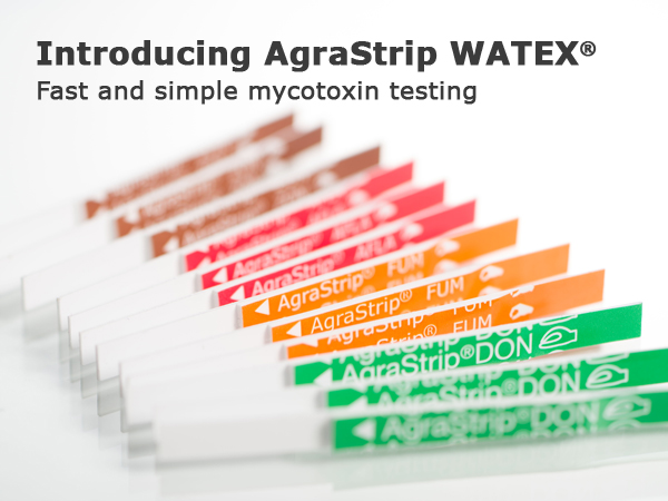 extended line of water-based mycotoxin test kits